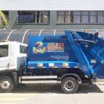 Coletor Basculante de Resíduos Recicláveis