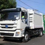 Coletor Compactador de Lixo 100% Elétrico